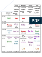division 7 term 3 day plan
