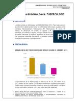 Epidemiología de la Tuberculosis en México