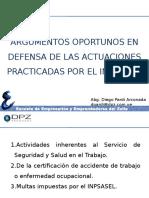 argumentosoportunosinspeccioninpsasel-100616171243-phpapp02