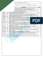 Avaliação Diagnóstica - 1º Ano 2015