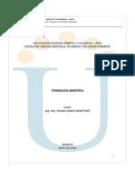 Toxicología Ambiental-UNAD