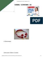 Circuito Estimulador Cerebral - Eletroterapia - CES