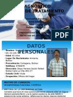 Diagnóstico y Plan de Tratamiento Sr Luis Cifuentes