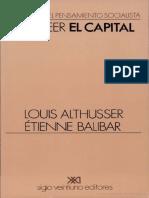 Para a Leer El Capital-Althusser Louis Apital