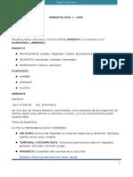 Clase 1. Generalidades Parasitolgía