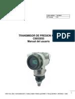 Transmisor de presion