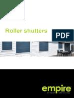 Roller Shutters Brochure