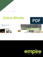 Zebra Blinds Brochure