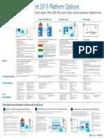 SharePoint 2013 Platform Options