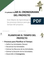 1.2.3 Planificar El Cronograma Del Proyecto