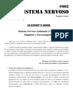 003 - Sistema Nervoso Autônomo Simpático e Parasimpático
