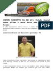 GRAVE ACIDENTE NA BR 104 Colisão Frontal Entre Picape e Moto Deixa Três Gravemente Feridos