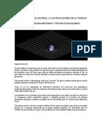 Gravedad, Electromagnetismo y Vector de Equilibrio