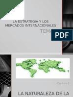 La estrategia y los mercados internacionales