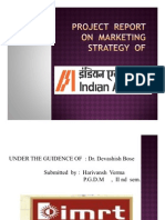 marketing strategy  of indian air lines by vansh verma