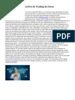 Proceso de planificación de Trading de Forex