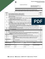 Acta de Consignacion Exterior Cuenta de Ahorro