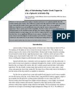 final research paper 307 pf