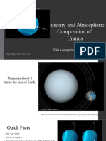 planetary and atmospheric composition of