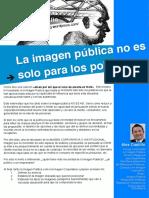 Artículo 14. La Imagen Pública no es solo para los políticos