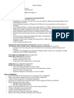 resume e-portfolio