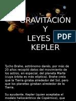 Gravitación y leyes de kepler