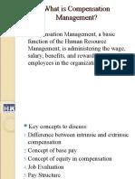 Compensation Management - I