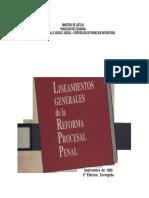 Lineamientos Generales de La Reforma Procesal Penal 1996