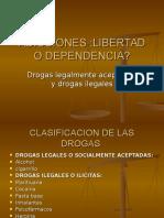 ADICCIONES Drogas Legales e Ilegales