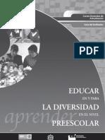 Educar en y Para La Diversidad en El Niv