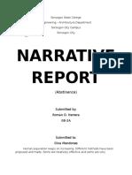 Narrative Report Soc Sci