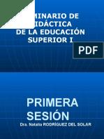 Seminario de Didactica i