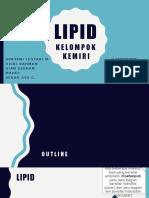 Biomol-03 Lipid Kelompok 6 (Kemiri)