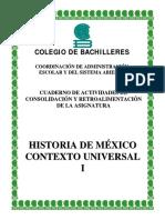 Cuaderno de Actividades Historia i