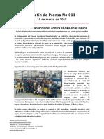Boletín 011 Se Intensifican Acciones Contra El Zika en El Cauca