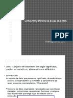 Conceptos Base de datos