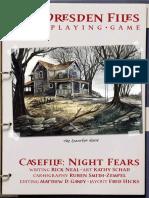Casefile - Night Fears