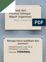 Publikasi Sebagai Wajah Organisasi