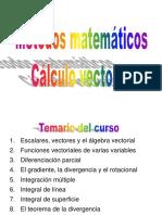 Calculo Vectorial - SESION N° 01 - 02