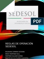 Programas de SEDESOl