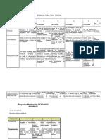 Rúbricas y Listas de Cotejo Bloque III Diversidad y Derechos Humanos