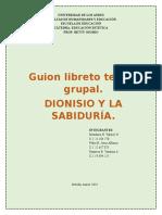 LIBRETO TEATRO  Grupal. ESTETICA. ARTE MEDIEVAL. GRUPO #3.docx