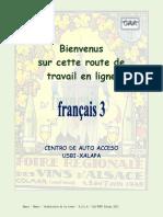 Route de Travail en Ligne Fracais 3 2013 A