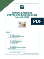 Manual Básico de Prevención Deriesgos en Conserjería