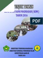 Juknis KSM 2016 Sudah Jadi