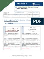 MIV - U5 - Actividad 3. Nomenclatura de Aldehídos, Cetonas y Ácidos Carboxílicos