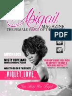 Abigail Volume 2 Issue 1