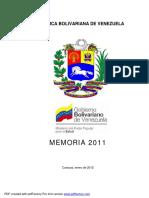 Memoria 2011MPPS