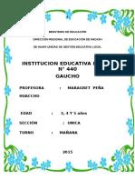 Carpeta Pedagogica Gaucho 2015