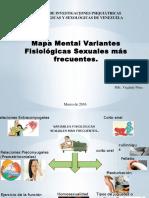 Mapa Mental Variantes Fisiológicas Más Frecuentes